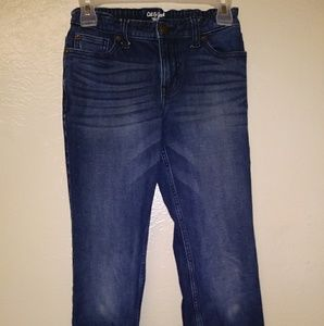 Cat & Jack Boys Sz 12 Jeans Blue Straight Denim Pa